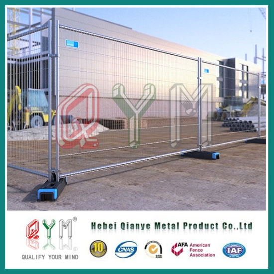 Hot Dipped Galvanized Welded Mesh Temporary Fence for Construction Events