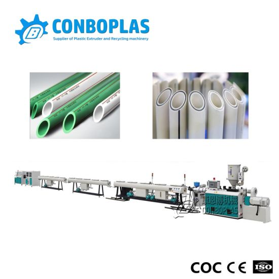 Wholesale Plastic Single Three Layer Hot Cold Water PPR Tube Pipe Production Extrusion Line pictures & photos