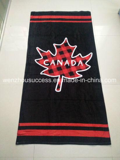 China Cotton Beach Towel Custom Stripe Beach Towels Swimming ...