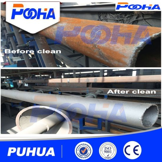 Steel Pipe Outwall Shot Blasting Machine Price pictures & photos