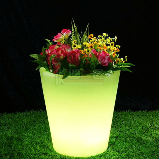Innovation Glow Planter Cool Multi Color RGB LED Mood Lamp