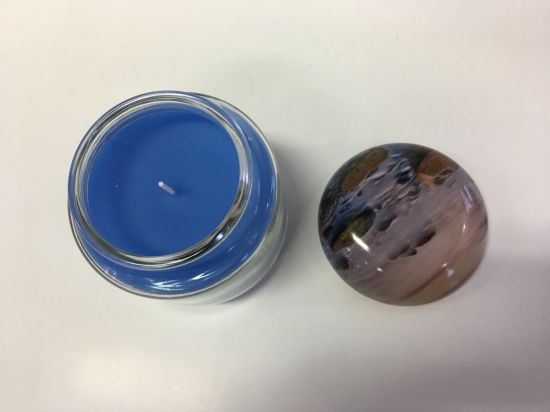 Hot Selling New Designed Glass Jar Soy Wax Candle pictures & photos
