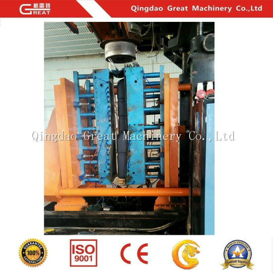 Large Customized Abnormal Plastic Hollow Product Making Blow Molding Machine pictures & photos