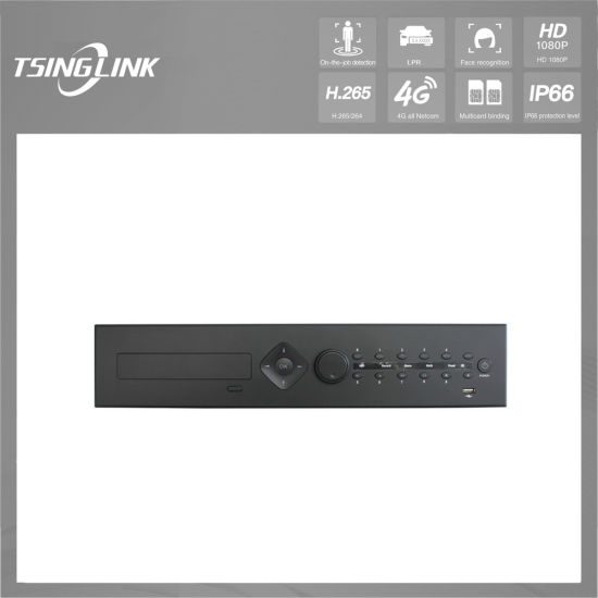 Customization Network Video Recorder 24 Channel HD CCTV H264 DVR