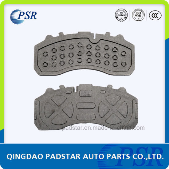Good Performance Wva Truck Brake Pads Cast Iron Backing Plate for Mercedes-Benz pictures & photos
