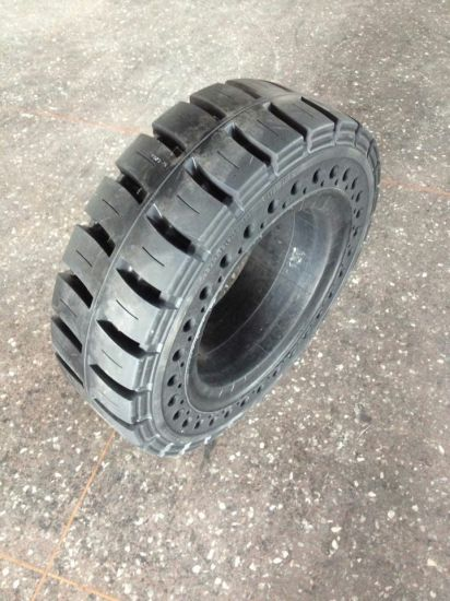 Forklift Tyre Industrial Tyres Solid Tire (7.00-12 8.25-12 8.25-15) pictures & photos