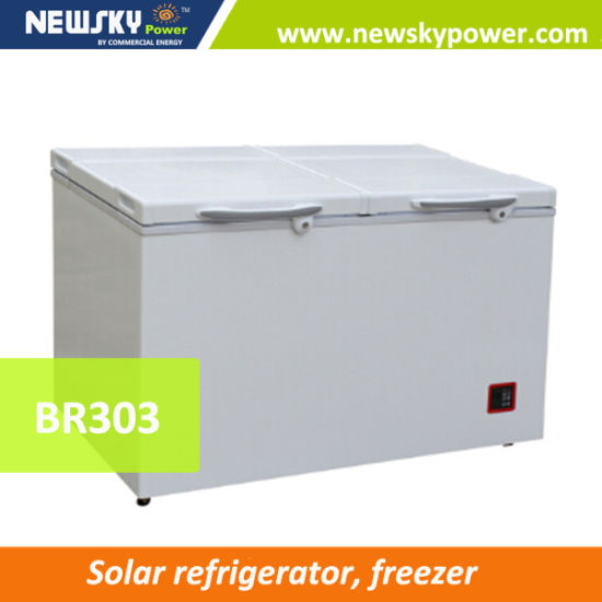Made in China DC 12V Battery Powered Solar Power Chest Freezer pictures & photos