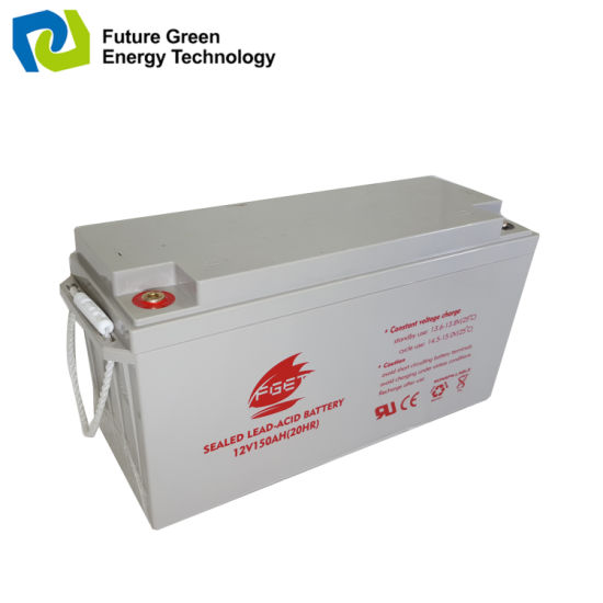 12 Volt 100ah Deep Cycle Storage Battery for Solar System pictures & photos