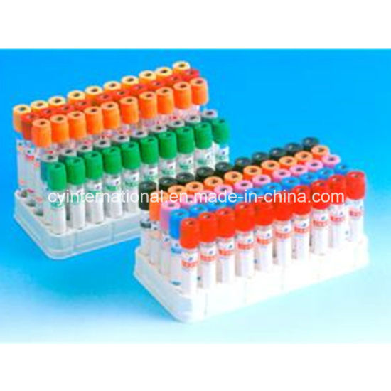 Medical Disposable Lithium Heparin Vacuum Blood Collection Tube pictures & photos