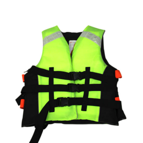 Polyethylene Foam Life Jacket (Yellow) .