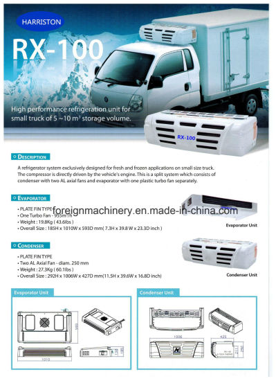 High Quality Refrigeration Unit Rx-100 for Small Storage Volume Type pictures & photos