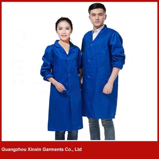 Customized Good Quality Men Women Working Shirt Supplier (W209)