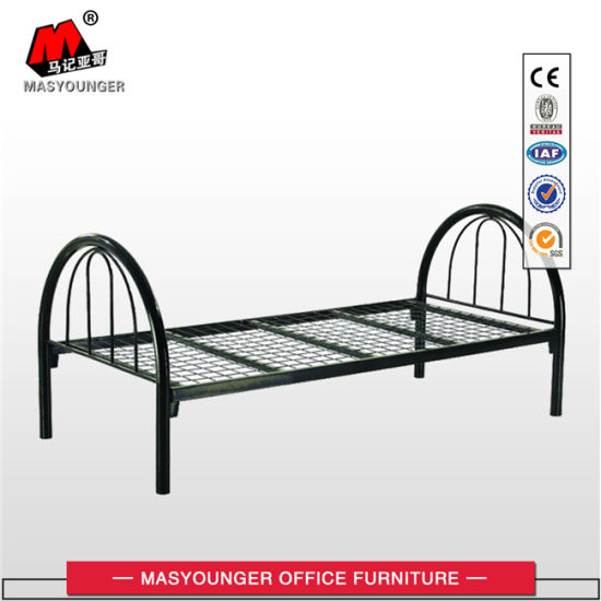 Student Worker Use Cheap Metal Single Bed