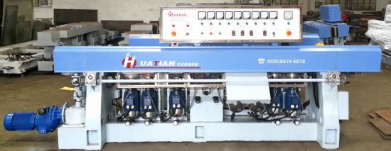 9 Spindle Flat Glass Straight Line Edging Machine