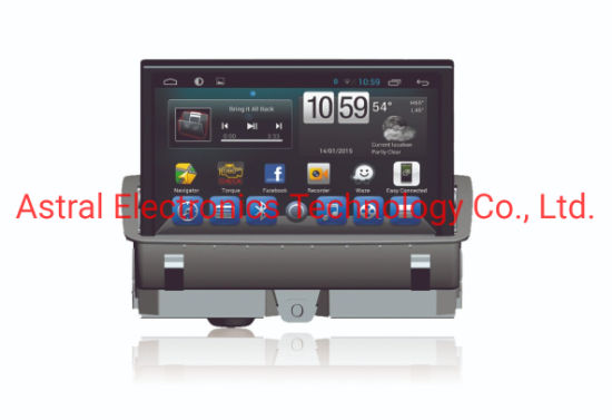 7-Inch Audi Q3 Android Infotainment Multimedia System with GPS Navigation FM Radio RDS Carplay DSP 4G SIM Steering Wheel Control