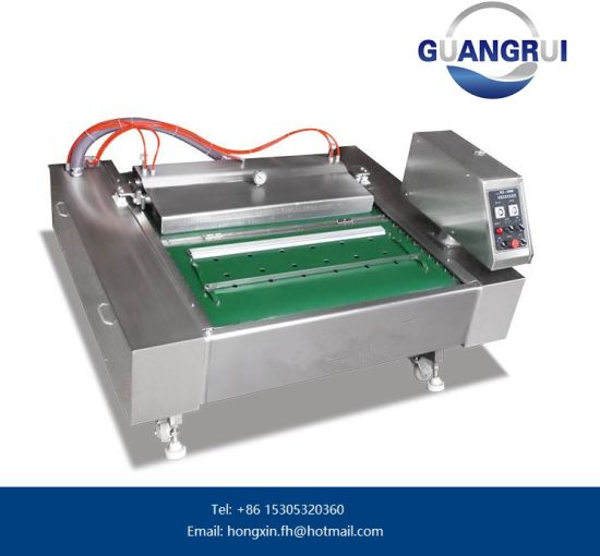 PLC Control Semi-Automatic Food Vacuum Packer pictures & photos