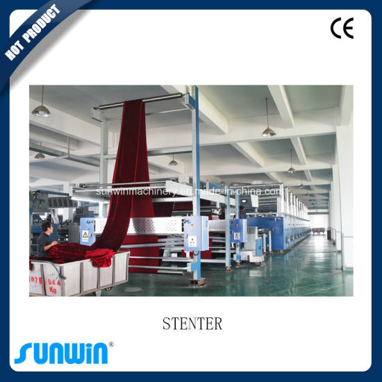 New Stenter Heat Setting Machine with Edge Cutting System pictures & photos