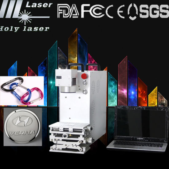 Fiber Laser Marking Machine for Lighter (HS GQ-20W) pictures & photos