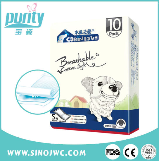 China Made PEE Pet Absorption Portable Changing Sanitary Pad pictures & photos
