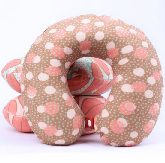 Fashion High Quality Cotton U Shape Travel Neck Pillow (T62) pictures & photos