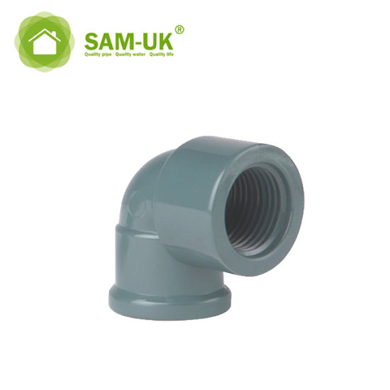China PVC Fittings PVC Elbow 90 Degree C PVC Pipe Fittings Grey with