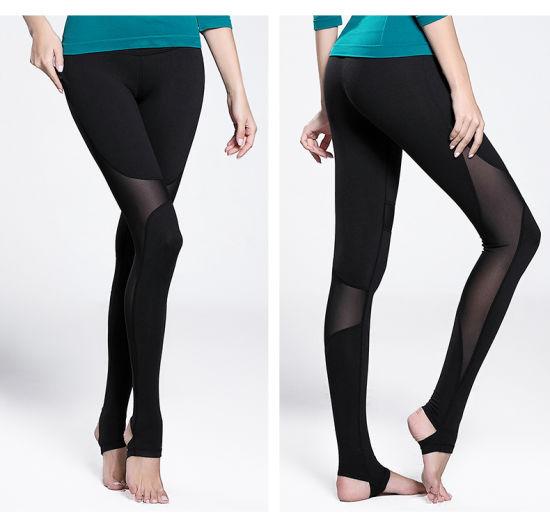 90b125d8c3 High Elastane Women Yoga Pant Women Legging Gym Wear Manufacturer pictures  & photos