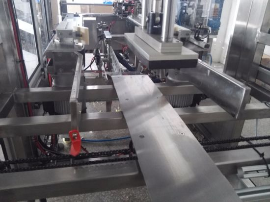 Automatic Stainless Steel Material Hot Melt Glue Carton Erector pictures & photos