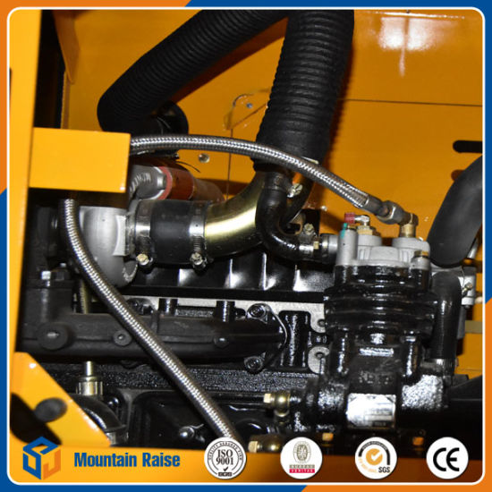 Chinese Mini Wheel Loader with Crane Grasp pictures & photos