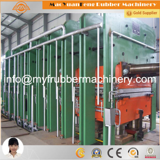 Frame Type Platen Press Machine for Rubber Sheet pictures & photos