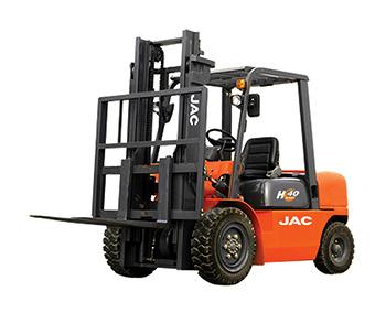 4.5ton Diesel Forklift Truck 3meter Lift Height/JAC