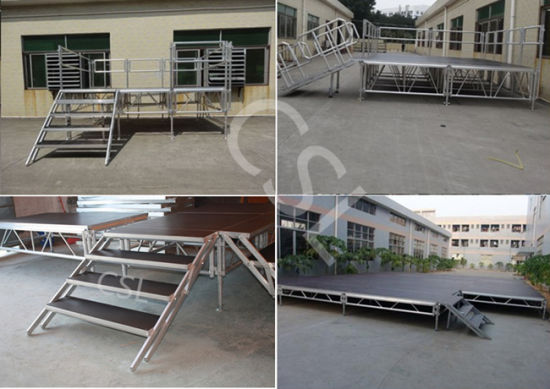 Outdoor Ridge Tent / Wedding Stage / Combined Aluminum Stage for Sale pictures & photos