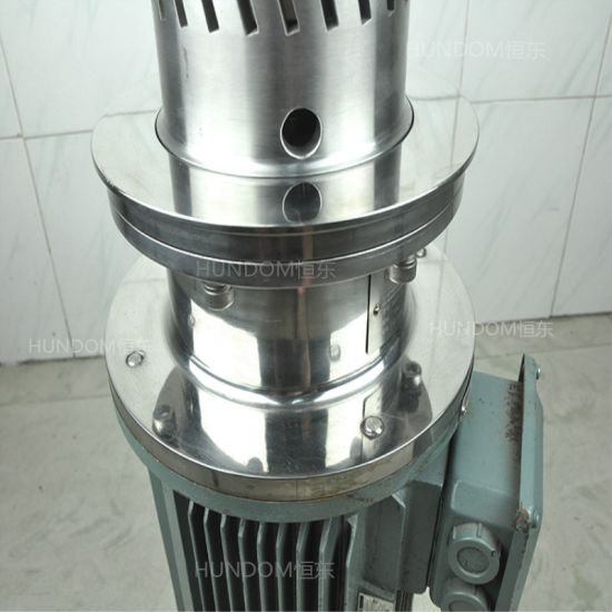 High Efficiency Tank Bototm High Shear Homogenizer Mixer for Cosmetic pictures & photos