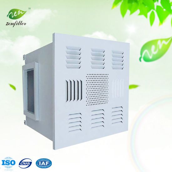 Chinese Manufacturer Gel Seal HEPA Box for Cleanroom