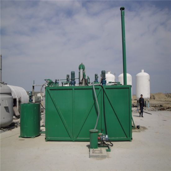 Waste Truck/Car/Motor/Marine/Mineral/Synthetic Oil Recycling Machine pictures & photos