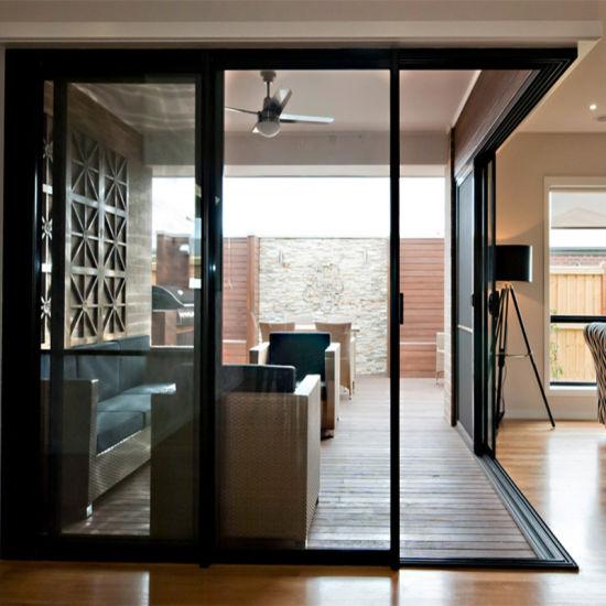 China Interior Aluminum Door Frames Used Sliding Glass Door China