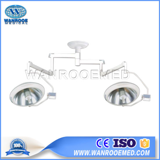Akl 700 Medical Equipment Ceiling Type Double Dome Surgical Shadowless LED Operating Light