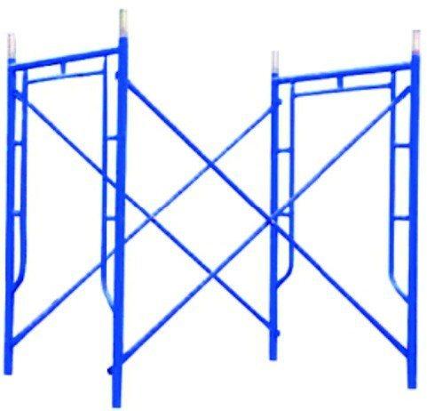 Galvanized Painted Ladder Platform Scaffolding H Frame Construction