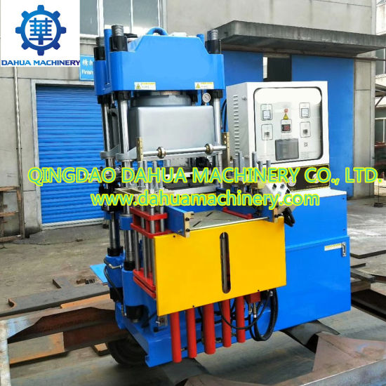 Full Automatic Vacuum Silicone Rubber Compression Molding Hydraulic Press Machine Made in China with Ce