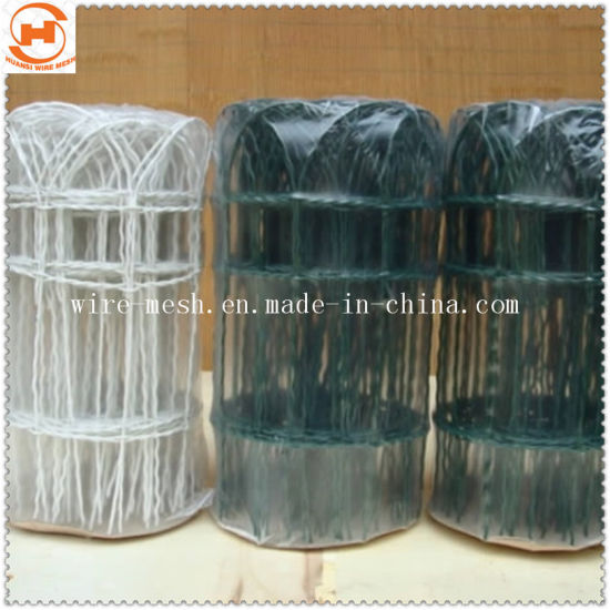 Green PVC Coated Garden Border Wire Fence