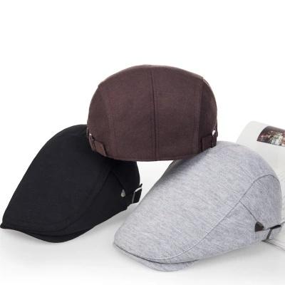 610798075e919 Custom Fashion Cap High Quality Promotional Cap Sports Winter Man Hat IVY  Beret