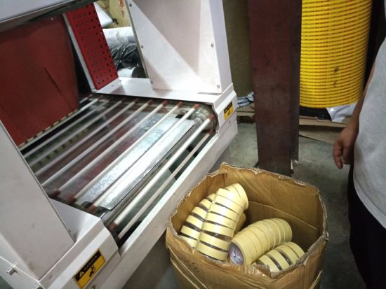 Accordion Tape Shrink Wrapping Machine pictures & photos