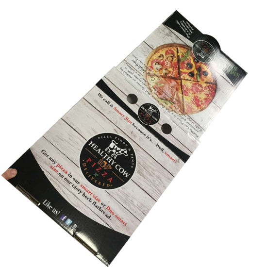 Recyclable Cheap Custom Carton Pizza Box pictures & photos