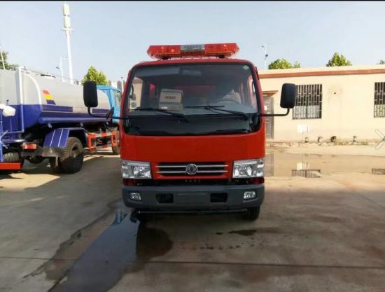 Dongfeng 2500 Liters Fire Fighting Truck for Sales