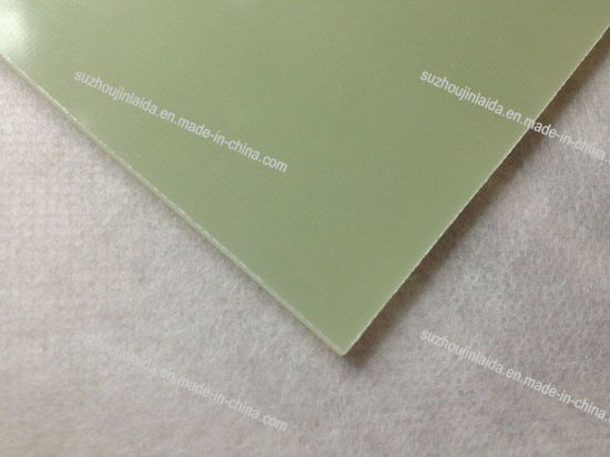 Good Flatness Green Fabric Glass Sheet (FR-4) pictures & photos