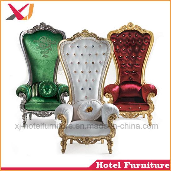 Modern Hotel Furniture King and Queen Wedding Throne Chair  sc 1 st  Foshan XJ Furniture Co. Ltd. & China Modern Hotel Furniture King and Queen Wedding Throne Chair ...