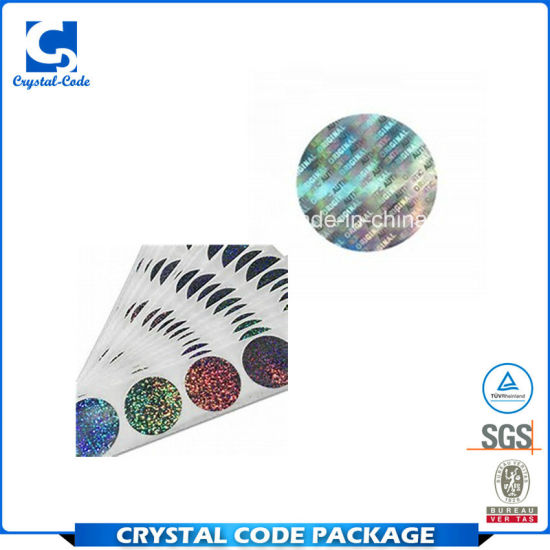 China Best Selling Make Your Own Hologram Sticker Label - China Make
