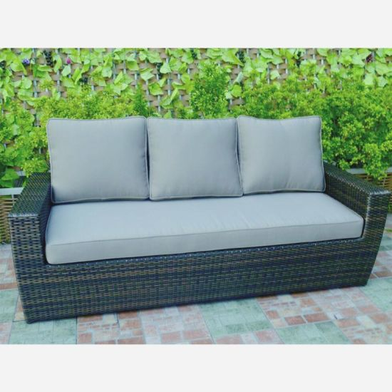 Weave Wicker Sofa Set Conservatory