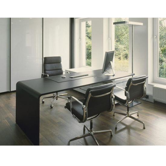 Top Design Of Ceo Boss Table With Curved