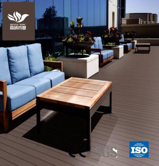Garden Eco-Frinendly Green Material WPC Flooring