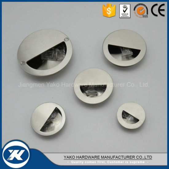 Various Size and Different Shape Stainless Steel Flush Cup Pull Handle